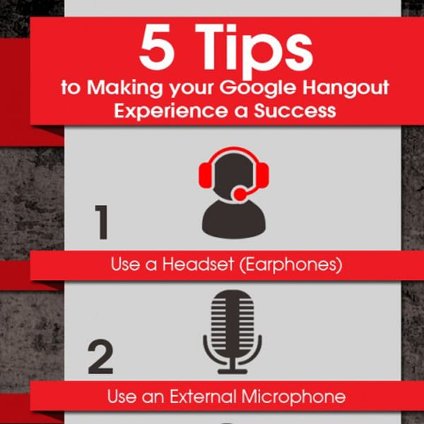 Infographic: 5 Simple Tips for using Google Hangouts