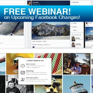 Webinar: 9 MUST DO's to get your Business Ready for the Upcoming Facebook Changes!