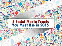 Webinar: 5 Social Media Trends You MUST Use in 2015