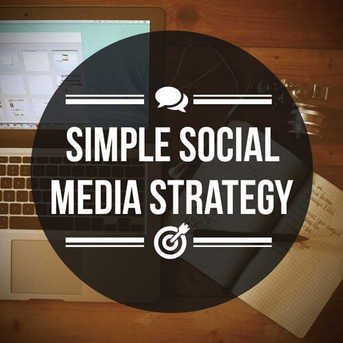 Simple Social Media Strategy to show ROI