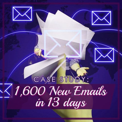 Case Study: Contest for List Building 1600 Emails
