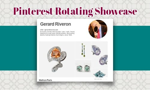 Pinterest Rotating Showcase Profile Design – New