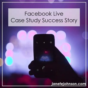 Facebook Live Case Study Success Story