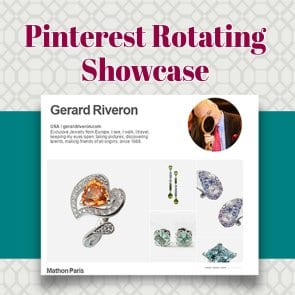 Pinterest Rotating Showcase Profile Design – How to set it up