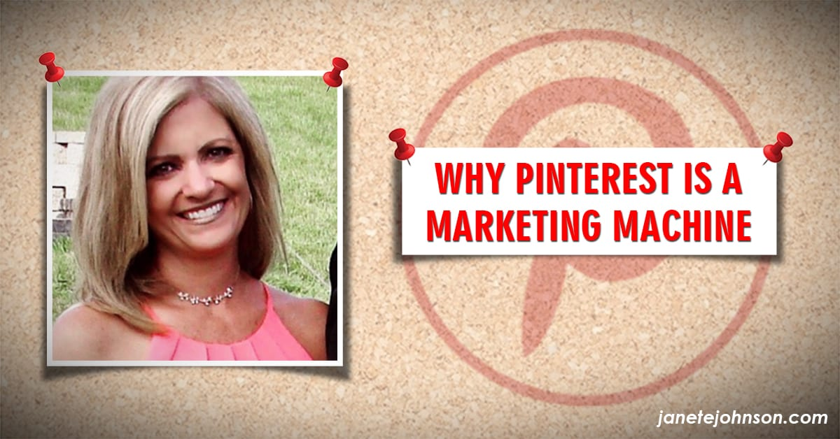 Pinterest is a Marketing Machine