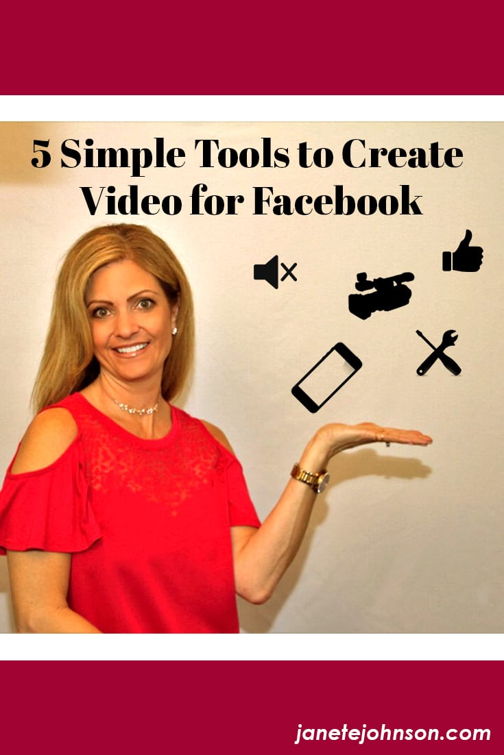 5 simple tools to create video for Facebook - video marketing tips