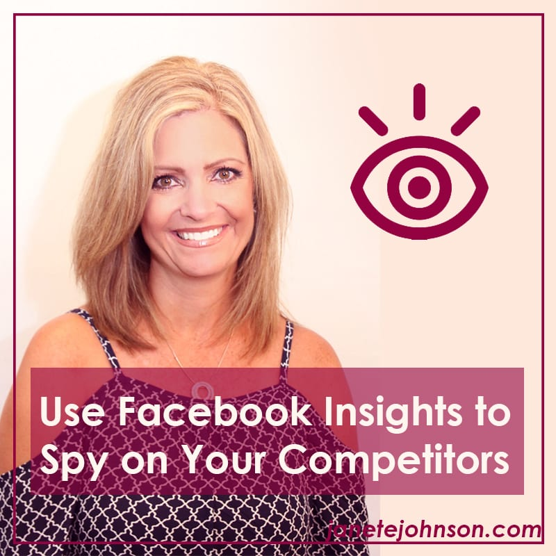 Use Facebook Insights to Spy on Competitors
